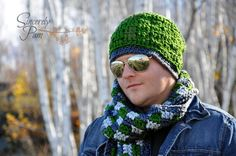 Crocheting: Griffin Hat (Slouch/Beanie/News/Earflap)