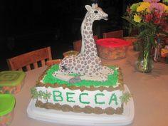 my 17th birthday giraffe cake!(:
