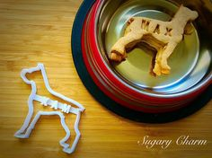 Boxer cookies Boxer cookie cutter Dog Cookie cutter by SugaryCharm Dog Vegetables, Whole Food Recipes, Dog Food Recipes, Dog Cookie Cutters, Personalized Cookies, Dog Cookies, Healthy Oils, Homemade Dog Treats, Keeping Healthy