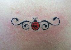 Stylish Ladybug Swirl