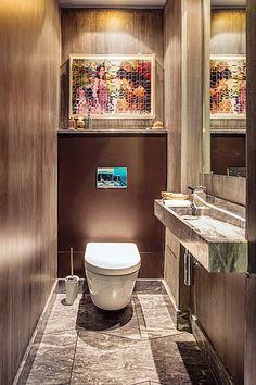 Banheiros e lavabos – 10 ideias
