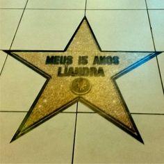 Adesivo para festa- Estrela de Hollywood