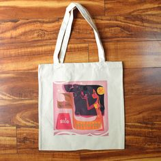 La Morena Mermaid Tote by britsketch on Etsy https://www.etsy.com/listing/198442083/la-morena-mermaid-tote