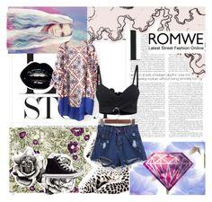 """Romwe 9/10"" by lejlamekic ❤ liked on Polyvore"