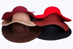 Boho hats less than $10. Wool Felt Crushable Summer Sun Beach Wide Brim Ladies Floppy Hat For Women 2014 New Arrival Hot Sale Females High Quality Hats-in Bucket Hat...