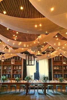 10 best dekorasi lighting pernikahan di medan images on pinterest cascading drapery and hanging lanterns for your indoor woodland ethereal themed wedding to give a more woodland theme add greenery centerpieces to the junglespirit Gallery