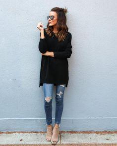 Aesop Cozy Sweater - Black Medium