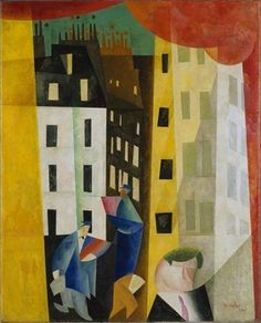 Lyonel Feininger, At the edge of the world on ArtStack #lyonel-feininger #art