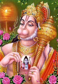 Sri Hanuman HD Wallpapers with Chalisa on the App Store