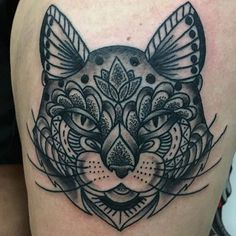 Dan makes geometric cat tattoos. Get a geometric cat tattoo from @danryan_irontiger. #tattoo #tattoos #geometrictattoos #cattattoos #cat #mizzou #macc #stephenscollege by iron_tiger_tattoo http://ift.tt/1O1z3Tq - http://ift.tt/1HQJd81