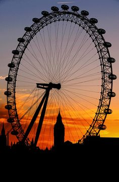The London Eye....