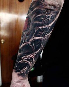WEBSTA @ matiasfelipe_ds - #roots #organic #bio #tattoo #tatuaje Skull Hand Tattoo, Hand Tattoos, Life Tattoos, Tattoos For Guys, Tatoos, Dark Tattoo, I Tattoo, Bio Organic Tattoo, Kopf Tattoo