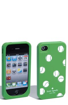 This might encourage me to finally upgrade my iPhone. Seriously can't get enough of this tennis ball print!