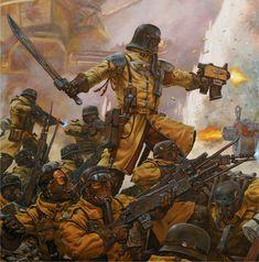 40k - Steel Legion Imperial Guard