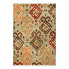 KAS Oriental Rugs x 78 Geneva Blue Allover Ikat Rectangular: 5 ft. 3 in. x 7 ft. 8 in. Kitchen Area Rugs, Discount Rugs, Rug Material, Carpet Stains, Rug Shapes, Contemporary Rugs, Throw Rugs, Soft Colors, Blue Area Rugs