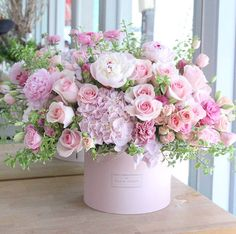 Beautiful pink flowers.