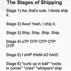 I WAS LITERALLY JUST STAGE 6