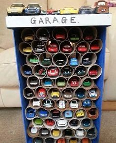 Toy storage for Michael and Sebastian for Christmas