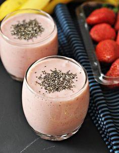 6 smoothies à la fraise que vous devriez inclure dans votre alimentation - Améliore ta Santé