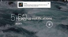 Notificaciones emergentes para todos con Heads-up notifications [No root]
