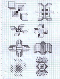 Graph Paper Art: