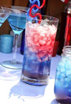 Bomb Pop Cocktails