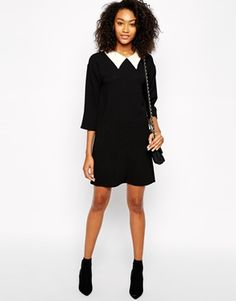 Enlarge Vero Moda Collared Shift Dress