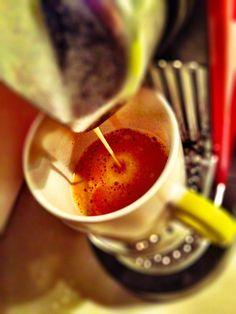 Guten Morgen…heute gibt's den #Arpeggio #Kaffee von @Nespresso im 70's Look.