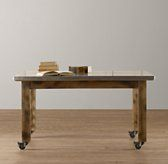 Restoration Hardware Kids  Vintage Schoolhouse Small Play Table