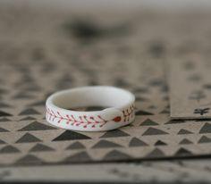 Seedling Porcelain Ring