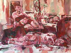 acrylics on canvas, 100x140cm