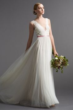 customizable Watters Brides Santina Gown