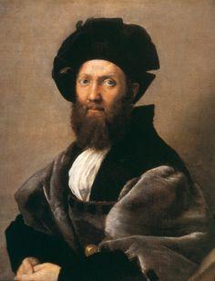 Portrait of Baldassare Castiglione (1515) Raphael