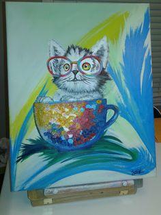Mon nouveau tableau!! Painting, Art, Baby Born, Board, Painting Art, Paintings, Kunst, Paint, Draw