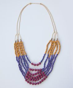 M is for Mama 5 Day Celebration Giveaway: Day 2 – African Sunset Necklace from Noonday