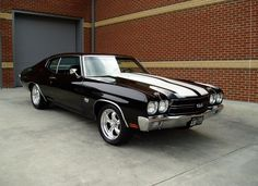 1970 Chevy Chevelle SS. This beauty boasts a 454 cubic inch engine with a mind boggling 500 units of horsepower. The 1970 Chevelle can go from 0-62 in six seconds flat