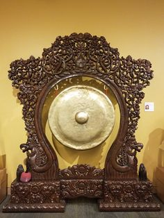 They have an experimental room where visitors can play various world instruments...and I went right for the gong. Satisfying. Learn more about gongs in the Asian exhibits at the Musical Instrument Museum, including how they are made and their spiritual significance.