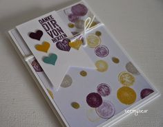 stampin with beemybear - card