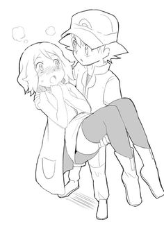 Beautiful ♡ Amourshipping ^.^ ♡ Kudos to whoever made this fan art