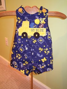 Michigan Outfit by TWINSANDQUINN on Etsy, $30.00