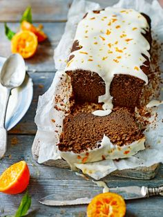 Try this Chocolate & Pumpkin Loaf in time for Halloween!