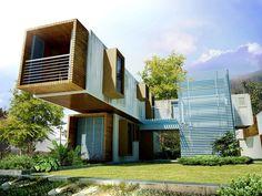 Fantastic Cargo Container Homes Architecture ~ http://lanewstalk.com/the-out-of-the-box-cargo-container-homes/