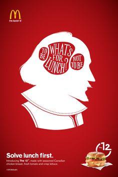McDonald's: Shakespeare, Austen, Einstein - Adeevee