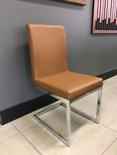New Tan Leather Dining Chairs | Dining Chairs | Gumtree Australia Stirling Area - Balcatta | 1154913866