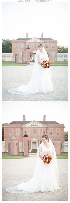 Tryon Palace bridal session, New Bern NC, Will Greene Photography