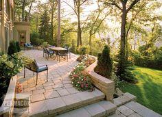 multi level backyard landscaping - Google Search
