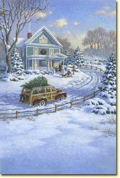 Vintage christmas - Corbert Gauthier