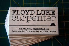 carpenter business cards - Google Search