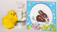 Easter Bunny (Rico Design 46600) #crossstitch #easter #ricodesign