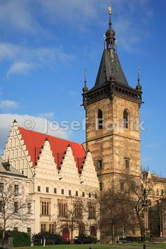 New Town City hall, Charles square, New Town, Prague, Czech republic